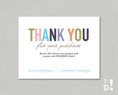 business thank you cards template instant download by totallydesign on etsy 1000