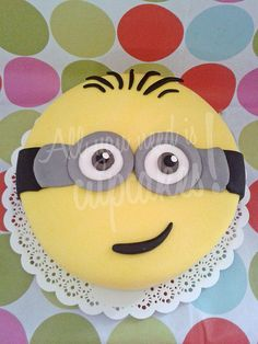 Minion Cake #despicableme | Mi Villano Favorito #minion All you need is cupcakes