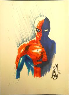 Spider-Man Commission 2012 by cOMIFAB.deviantart.com on @deviantART