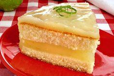 bolo cremoso de limão