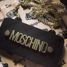 Photo by cherylmei_  #moschino #mymoschino #iphone #cover #case #bag
