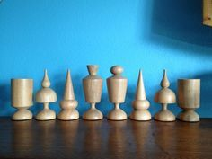 diy turned chess set - Bing Images