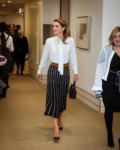 During an onstage interview in the UK today, Her Majesty Queen Rania Al Abdullah tackled the Syrian refugee crisis, the rising appeal of populist parties and the backlash against globalization in Europe, and the urgent need to redesign education in the Middle East.