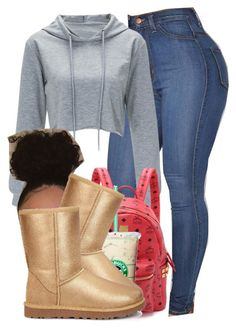 """""""997"""" by tuhlayjuh ❤ liked on Polyvore featuring MCM and UGG"""