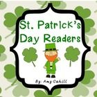 These emergent readers will be a great addition to your St. Patrick's Day Theme.  There are 2 black and white readers that your kids can read in wh...