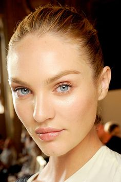Invest in a brightening concealer to even skin-tone under eyes and brighten around your nose and cupid's bow.  Stella McCartney S/S 2012