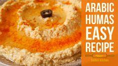 Aj hum arabian special dish hummus bnay gy boht he asan or jald ban jane wale tariky se. Humas Recipe, Quick Hummus Recipe, Make Hummus, Daal, Cornbread, Easy Meals, Dishes, Ethnic Recipes, Kitchen