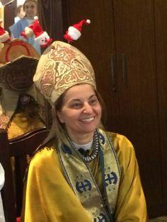 Madre Eva Martinez en la Alegría de Jesus por Gracia del Espíritu Santo, Obispo fundadora. Obispo auxiliar de Argentina y Obispo regional del Uruguay .