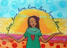SelfLove by loriportka on Etsy, $25.00