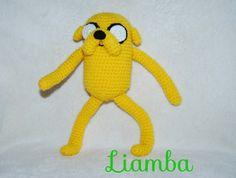 Jake el perro de Hora de Aventuras. Ganchillo. Crochet