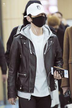 151231 EXO Baekhyun | Gimpo Airport to Beijing