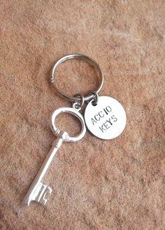 Accio Keys, Harry Potter, Keychain