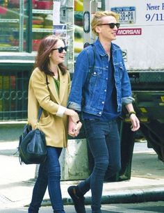 Lily Collins & Jamie Campbell bower in New York