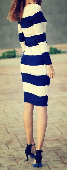 Navy stripes - nautical
