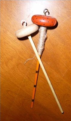How to Make a Drop Spindle for Making Yarn