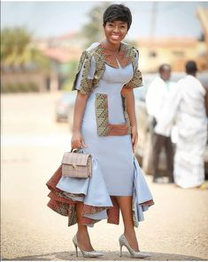 Hello,Today we bring to you 'Ankara Casual Gowns for Ladies'. These Ankara casual gowns are exquisit African Dresses For Women, African Print Dresses, African Attire, African Wear, African Fashion Dresses, African Women, Fashion Outfits, African Clothes, Ethnic Clothes