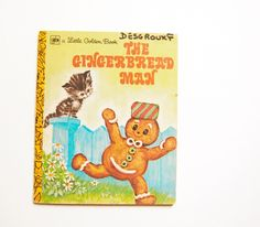 The Gingerbread Man. Collection A Little Golden Book, Editions World Distributors (1973).