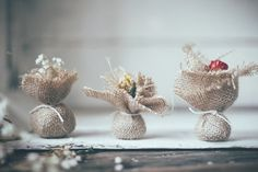 Great idea for an eco-friendly and beautiful wedding favor! | How to Make Wildflower Seed Bombs