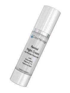 Retinol Night Cream  Fade Sun Age Spots Reduce Fine Lines Wrinkles Minimize Pores Even Skin Tone *** Click image for more details.