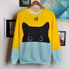 Adorable Kitty Sweatshirt