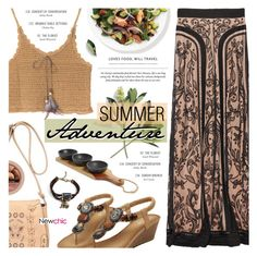 """Summer Adventure"" by noviii ❤ liked on Polyvore featuring Temperley London and Thirstystone"