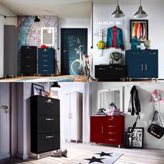 En snygg och inbjudande hall och samtidigt ordning och reda! Vad mer kan man önska sig���� Möbler i serien Malibu #malibu  #ordningochreda http://misstagram.com/ipost/1566929476587913438/?code=BW-2g6YHIDe