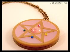 Sailor+Moon+Crystal+Star+Necklace+with+mirror++by+JapanophileUK,+£15.00