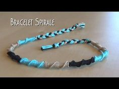 Bracelet rond spirale facile Tuto d butant -br Diy Bracelets And Anklets, Hippie Bracelets, Bracelet Knots, Summer Bracelets, Paracord Bracelets, Macrame Bracelets, Bracelet Making, Diamond Bracelets, Jewelry Bracelets