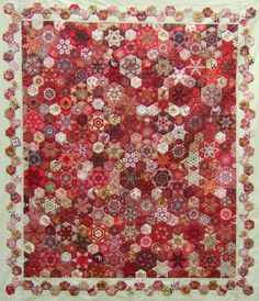 This is incredible! LOVE, LOVE, LOVE the mostly red and white stars & hexies - the other colors are a perfect addition too.