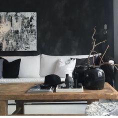 Repost, Beautiful wall in Black Truffle cred @runeaas( pure &original paint)