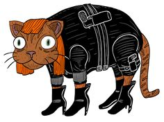 Make a big bang this Halloween with your pet's costume, but not by giving them a loaded weapon. This year make sure to take all the ammunition out of the Glock 26 handgun your ginger cat is using to be Black Widow from The Avengers. Your Halloween will be safer, and the attention will go to where it should: your cat's oiled up cleavage in that latex bustier!