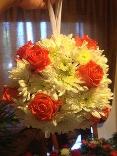 Wedding flower sphere!!