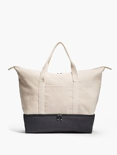 The Catalina - Lightweight and Spacious Women's Canvas Weekender Bag - Designed by Lo & Sons #loandsons