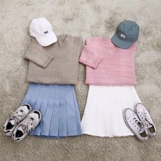 Korean Fashion look Cute Korean Fashion, Korean Fashion Trends, Korea Fashion, Japanese Fashion, Best Friend Outfits, Couple Outfits, Casual Outfits, Fashion Outfits, Womens Fashion