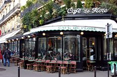 Café de Flore for drinks, a croque Monsieur and the best people watching! 75006