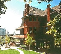 McCune Mansion, Salt Lake City, UT - is a 21 room, 3 floor mansion built in 1900. Two entities have been seen, but it's suspected that more call the old mansion home. Activity includes music playing when no one is there, disembodied voices, opening and closing doors, cold spots, lights turning off and on, apparitions, disembodied footfalls and more.