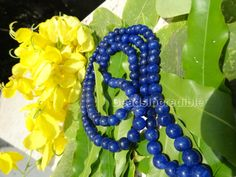 Blue Jade Necklace Genuine Natural Stone 8mm by beadsincredible, $24.95
