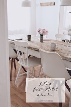 diy-old-furniture-painting – tips for difficult cases - Diy Möbel Diy Furniture Plans, Wooden Furniture, Furniture Making, Furniture Decor, Painting Old Furniture, Diy Painting, Diy Chair, Shabby Vintage, Shabby Chic Furniture
