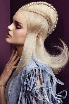 Hair: Suzie McGill, International Artistic Director at RRI. Products: Schwarzkopf Professional. Photgraphy: Jack Eames