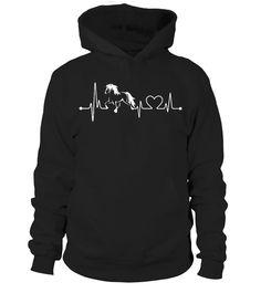 Horse HeartBeat  #gift #idea #shirt #image #horselovershirt #llovehorse