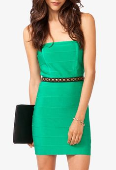Bandage Bodycon Dress: less than $35! Get 4% cash back http://www.studentrate.com/all/get-all-student-deals/Forever21-Student-Discounts--/0