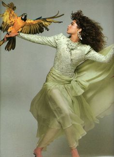 Vogue Paris, 1986, Photographer Bill King