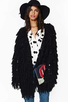 Night Party Fringe Jacket