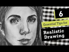 In this post, I share six essential tips to apply when drawing any kind of subject realistically, as well as a video time-lapse of a portrait drawing I created. Drawing Skills, Drawing Techniques, Drawing Tips, Drawing Ideas, Sketching Tips, Drawing Lessons, Figure Drawing, Drawing Reference, Art Lessons