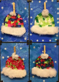 Warm hats in winter Maybe you remember our winter picture gloves . Warm hats in winter Maybe you remember our winter picture gloves? This small art project is one of gloves Hats maybe picture remember warm winter winteranime winterbeauty wintercart Winter Art Projects, Winter Crafts For Kids, Winter Kids, Winter Christmas, Preschool Crafts, Fun Crafts, Simple Crafts, Clay Crafts, Kindergarten Art Projects
