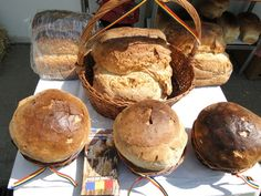 Pita de Pecica - Romanian bread from Pecica