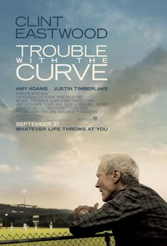Trouble with the Curve - Gus a, baseball scout whose team thinks should retire. He asks to do one more scouting job to prove himself. Gus's friend, Pete, asks his estranged daughter, Mickey, to go with him as his eyes are failing. He lands in North Carolina. Mickey puts her work on hold to go with him She wants him to tell why he pushed her away. While there he runs into Johnny, another scout who was a promising player Gus once scouted. Johnny and Mickey take interest in each other.