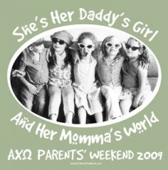 Parent's Weekend This would be so cute for Delta Zeta this year!!!