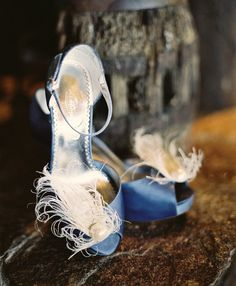 Bridal Ivory Peacock & Pearl Shoe Clips. Big Day by sofisticata, http://sofisticata.etsy.com Wedding Photography by http://www.cadebowmanphotography.com