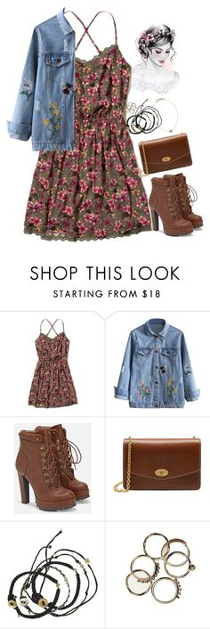 """""""AutumnHusk"""" by em-styles-16 ❤ liked on Polyvore featuring Hollister Co., JustFab, Mulberry, Scosha and Kismet"""